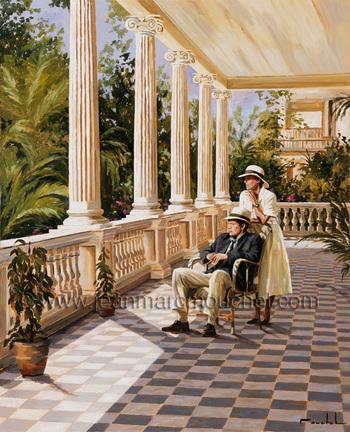 Balcon à Cuba - Jean-Marc Mouchel - cub0116