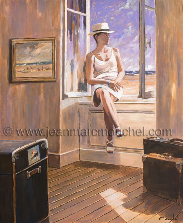 La femme à la fenêtre - Jean-Marc Mouchel - bdm0173 (Nouveauté 2019)