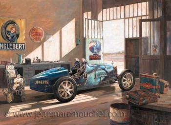 La Reine Bugatti - Jean-Marc Mouchel - cdv0146 (Nouveauté 2014)