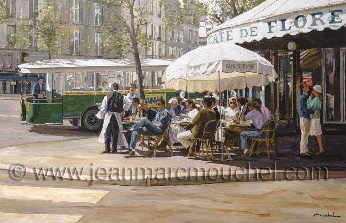 Café de Flore - Jean-Marc Mouchel - cdv0161 (Nouveauté 2017)