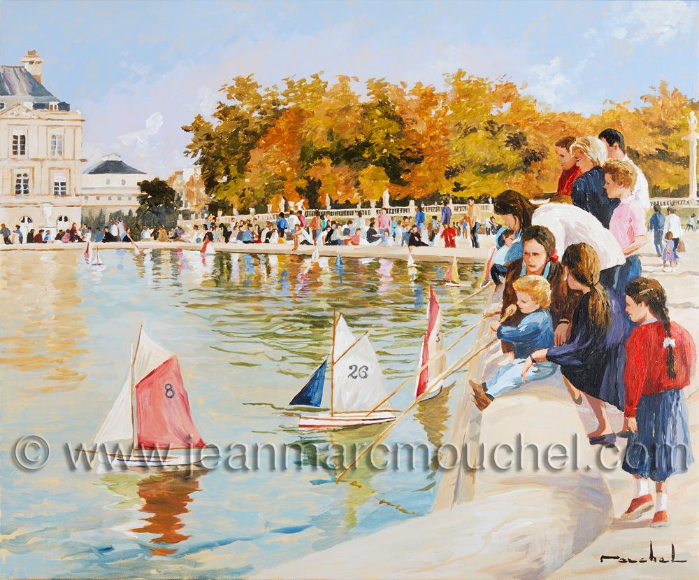 Jardin du Luxembourg - Jean-Marc Mouchel - cdv0162 (Nouveauté 2018)