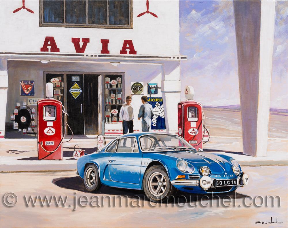 Garage Avia La berlinette - Jean-Marc Mouchel - cdv0164 (Nouveauté 2018)