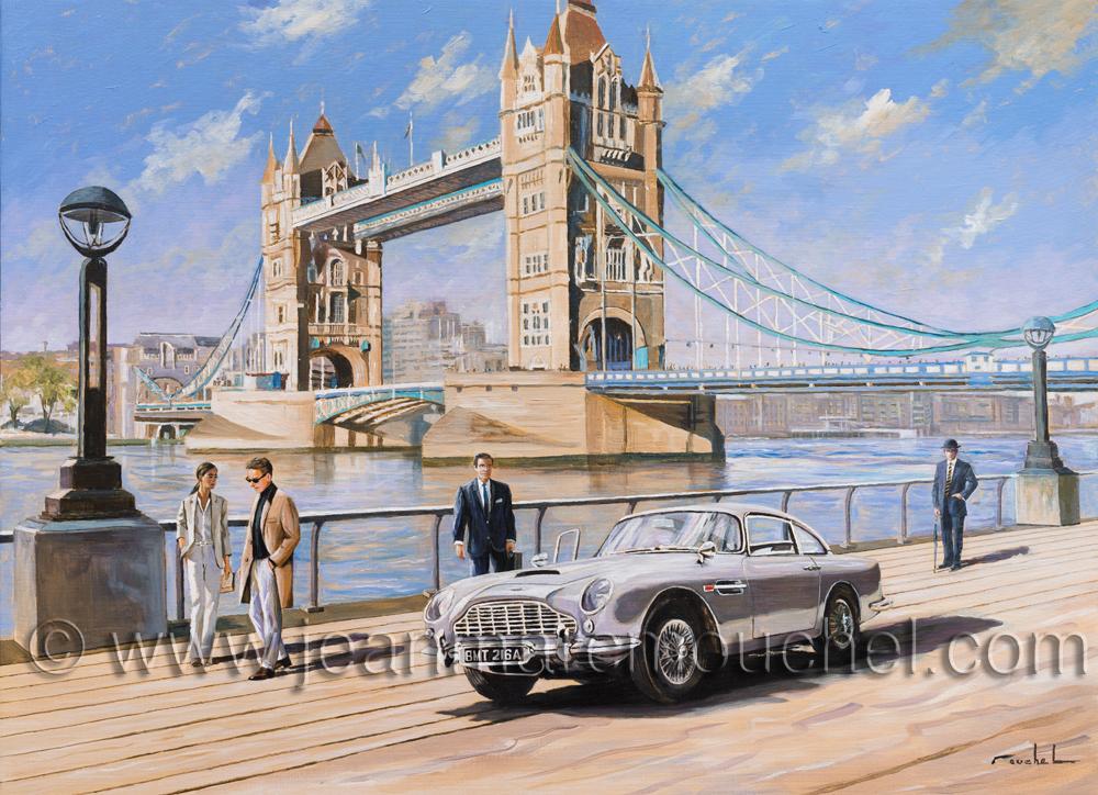 Aston martin Londres - Jean-Marc Mouchel - cdv0165 (Nouveauté 2018)