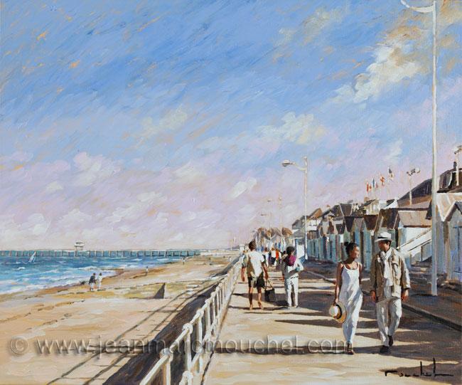 La jetée de Luc sur mer - Jean-Marc Mouchel - bdm0140  (Nouveauté 2013)