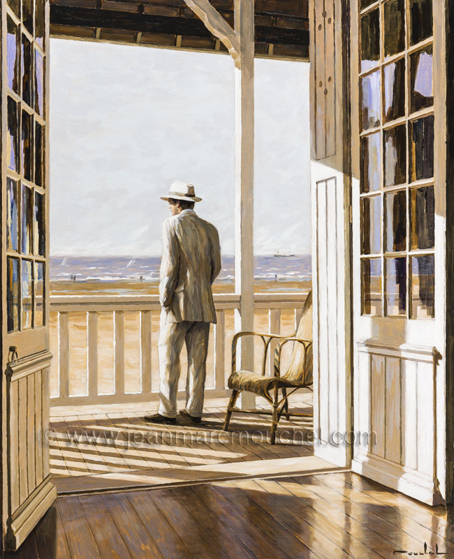 Homme balcon - Jean-Marc Mouchel - bdm0141  (Nouveauté 2013)