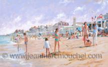 Un après midi ensoleillé Luc sur mer - Jean-Marc Mouchel - bdm0169 (Nouveauté 2019)