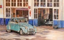 La visite au garage - Jean-Marc Mouchel - cdv0177 (Nouveauté 2020)